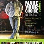 Battle: Make your choice contest 2014 à Montreuil