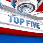 """Le """"King"""" et son acolyte Kyrie Irving dominent le TOP 5 de la nuit"""