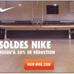 Soldes: 30% de réduction chez Nike
