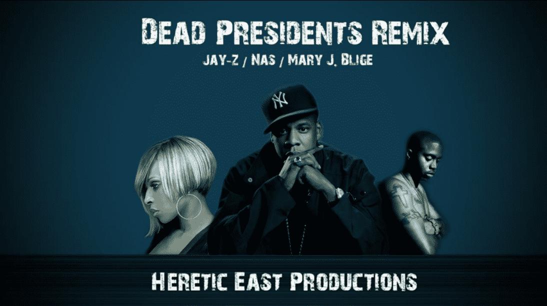 image jay z nas sur son dead presiendents remix - rap us