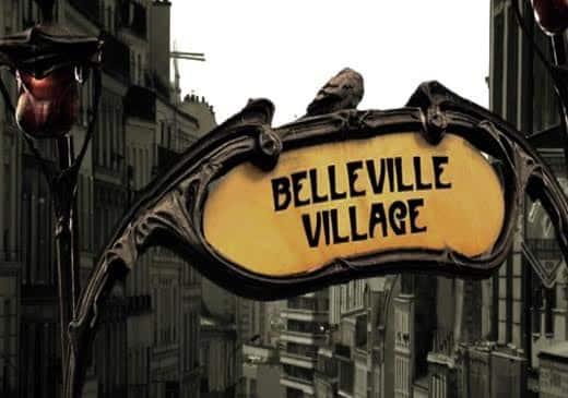 image belleville village actu street art