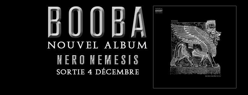 image booba album nero nemesis sortie le 4 décembre 2015