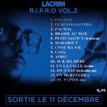 La tracklist de Lacrim disponible