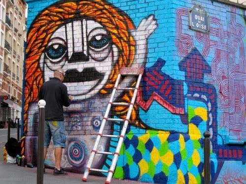 image archeologue overblog street art