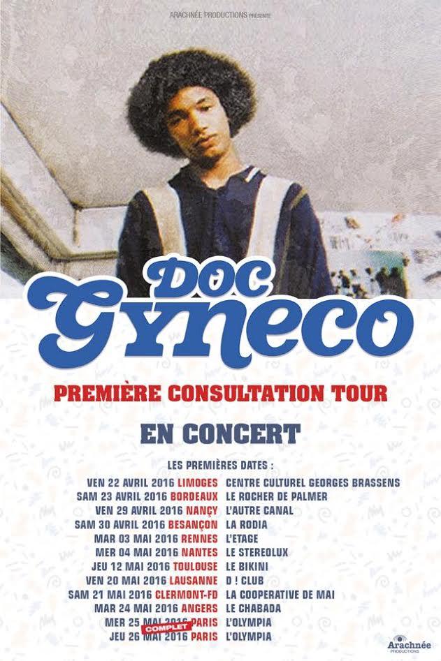 image doc gyneco de la tourée de concert première consultation tour