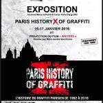 Paris History X of Graffiti : l'histoire du graffiti parisien de 1982 à nos jours