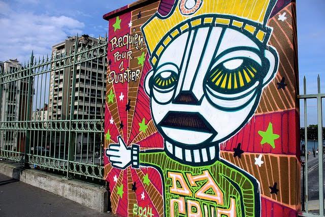 image les billets de miss acacia street art