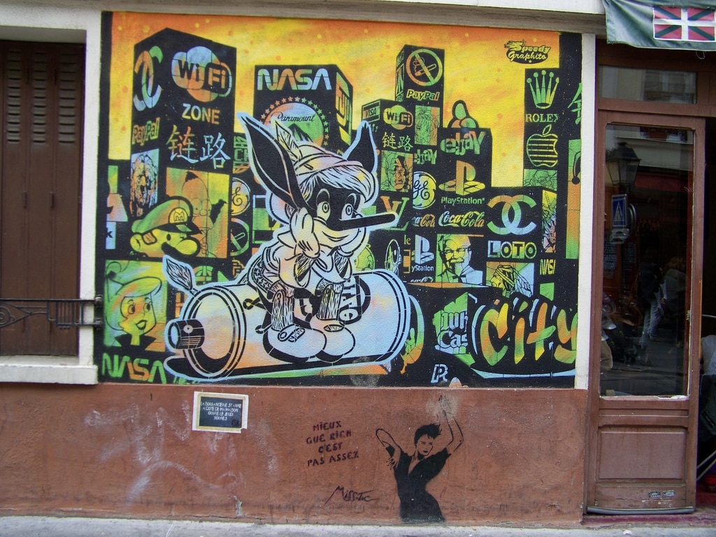 image paris la butte aux cailles multimarques graff street art