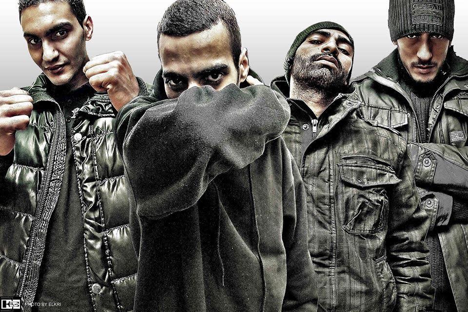 image scred connection groupe rap francais