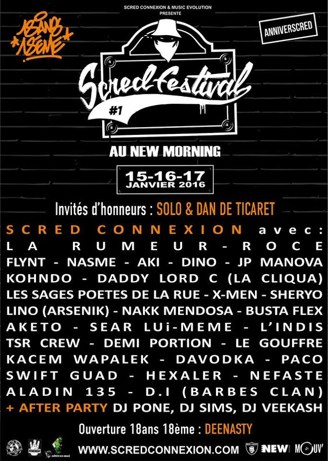 image scred festival programme