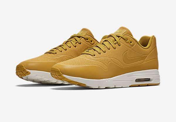 Les promos Nike   la Nike Air Max 1 Ultra Moire Citron   Hip Hop Corner 9f3a336022e3