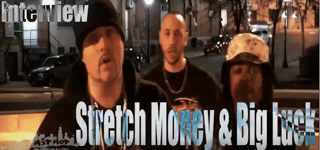 image de l'interview de big luck et stretch money