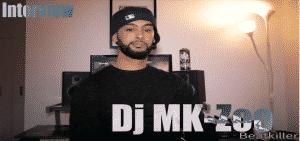 image dj mk zoo de l'interview pour hip hop corner