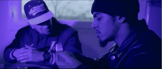 image du clip gangsters de studio