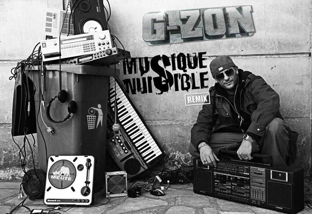image g-zon album musique nuisible remix