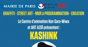 image kashink vernissage 29 janvier 2016 street art