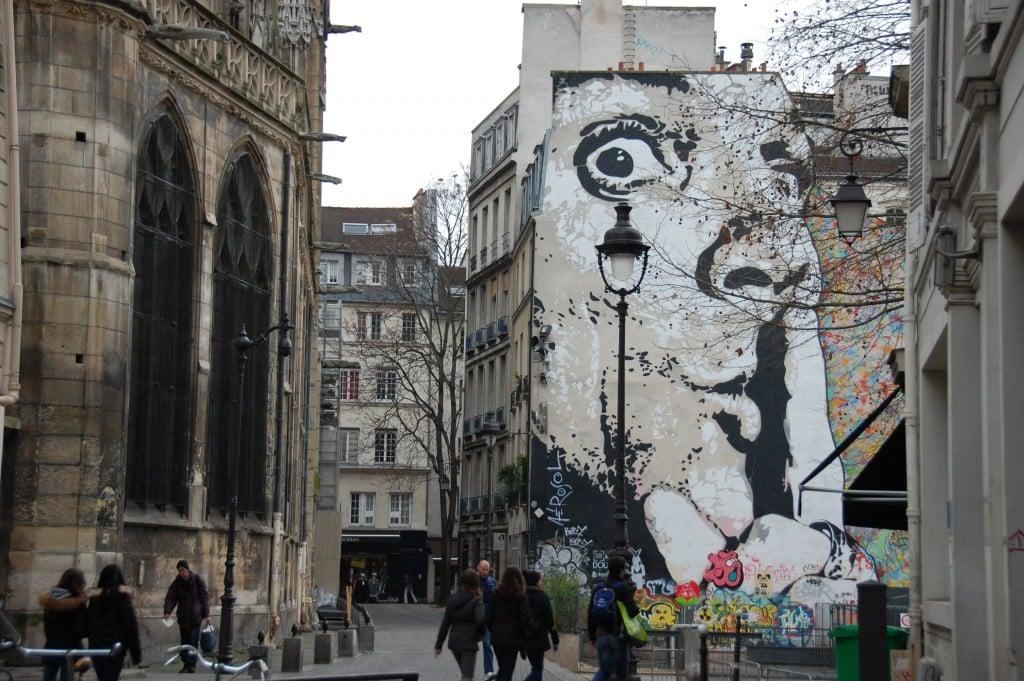 image paris le marais deuxième street art