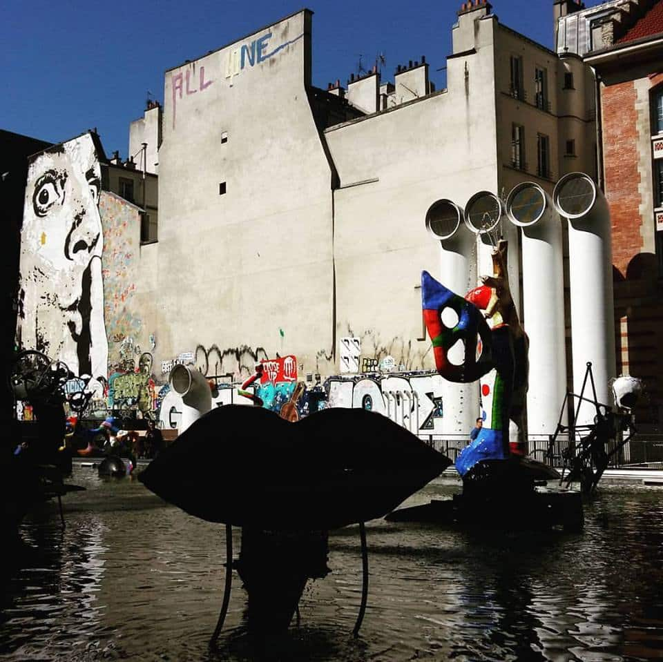 image paris le marais premier street art