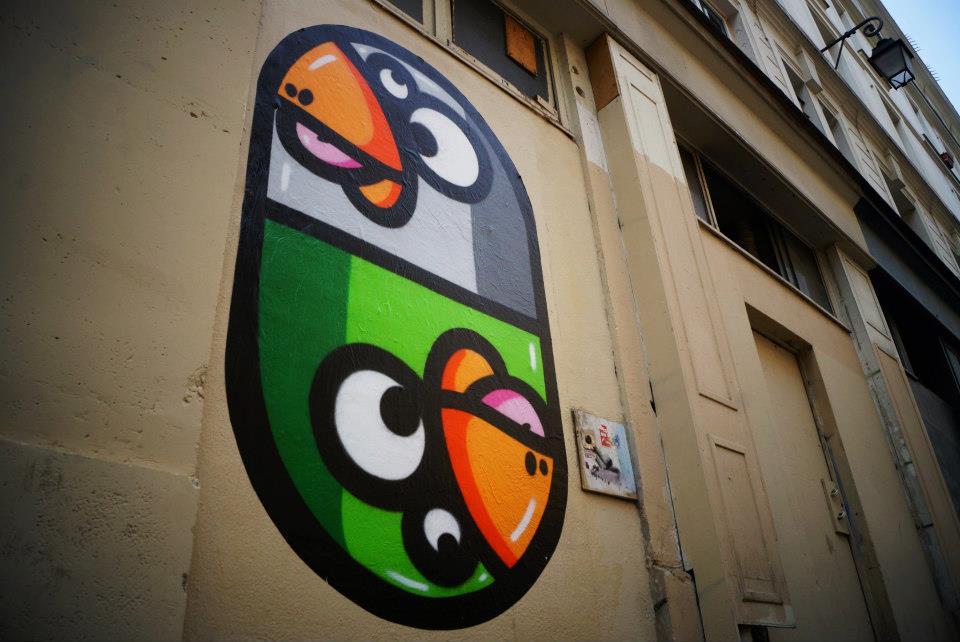 image paris le marais quatrième street art