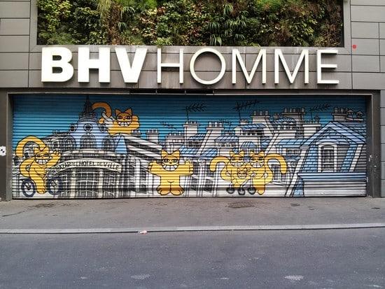 image paris le marais troisième street art