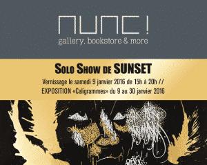 image sunset street-art janvier expo