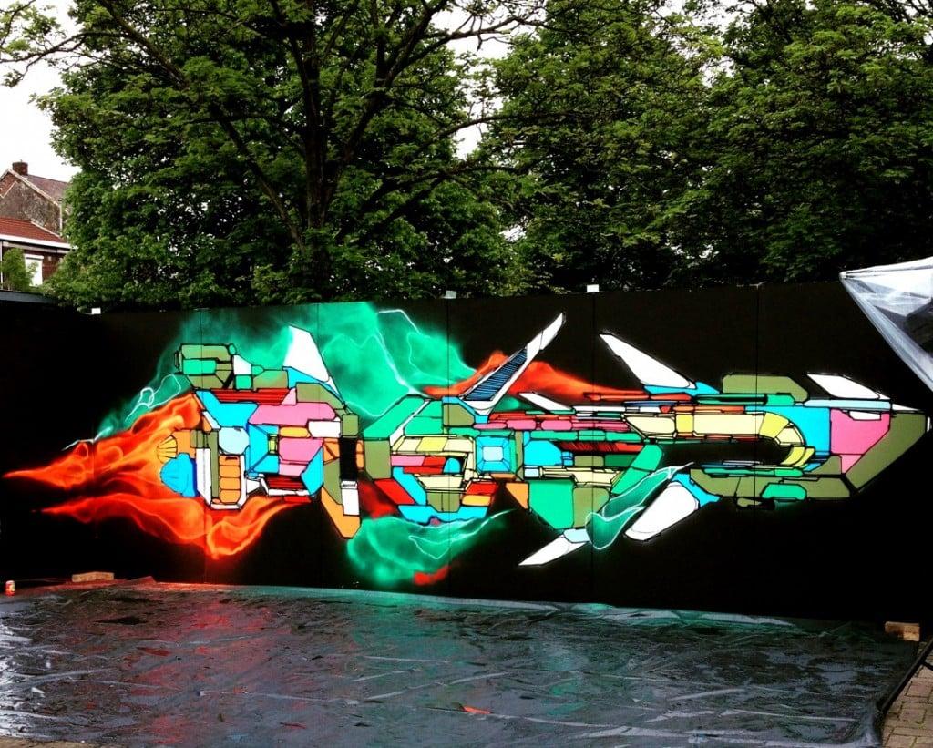 image wrung et nova dead street art quatrième