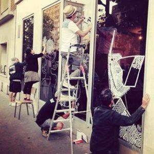 image zoom street-art ernesto novo artisan huitième