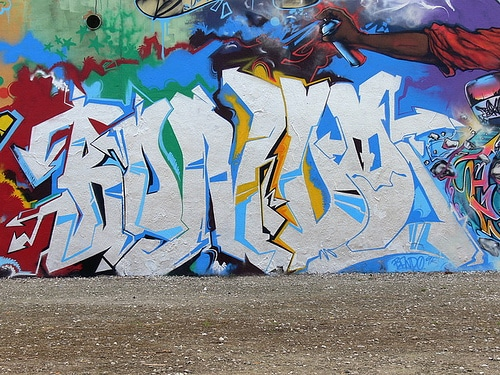 image bando graff street art