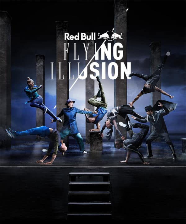 image Red Bull Flying Illusion tournée 2016 france