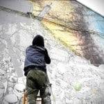 Blu efface ses œuvres des murs de la ville de Bologne