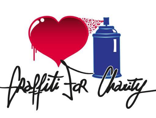image graffiti for charity