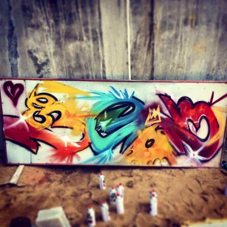 image graffiti sri lanka bombe