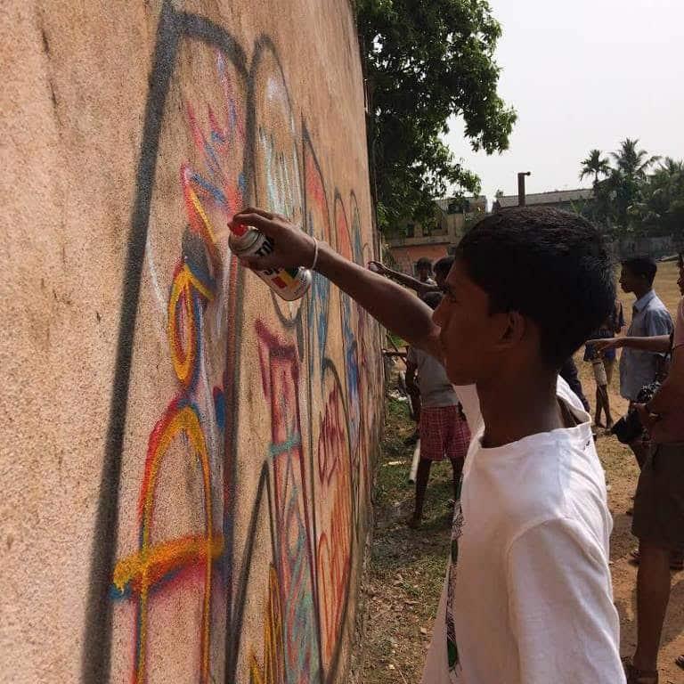 image graffiti sri lanka charity