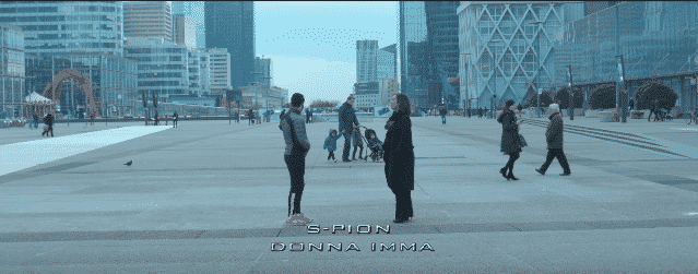 image spion du clip donna ima