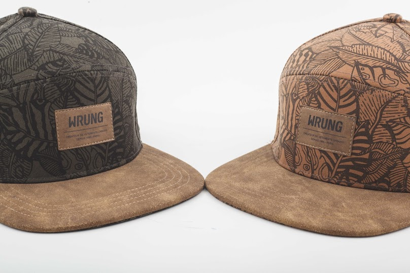 image wrung double casquette paname jungle