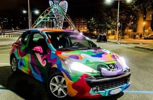 image gesta future graffiti car
