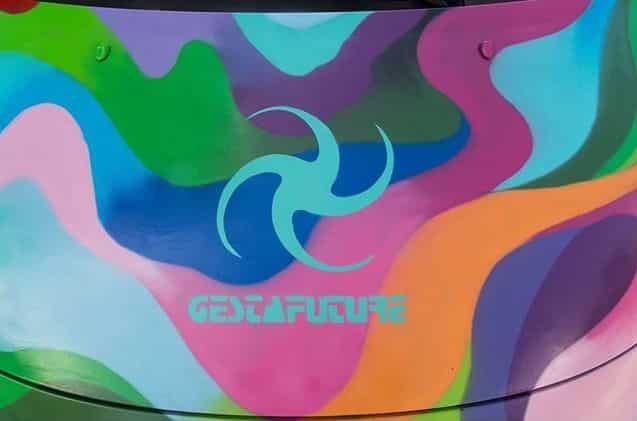 image gesta future graffiti car