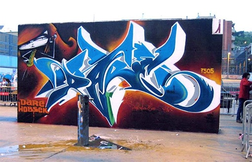 image dare graffiti