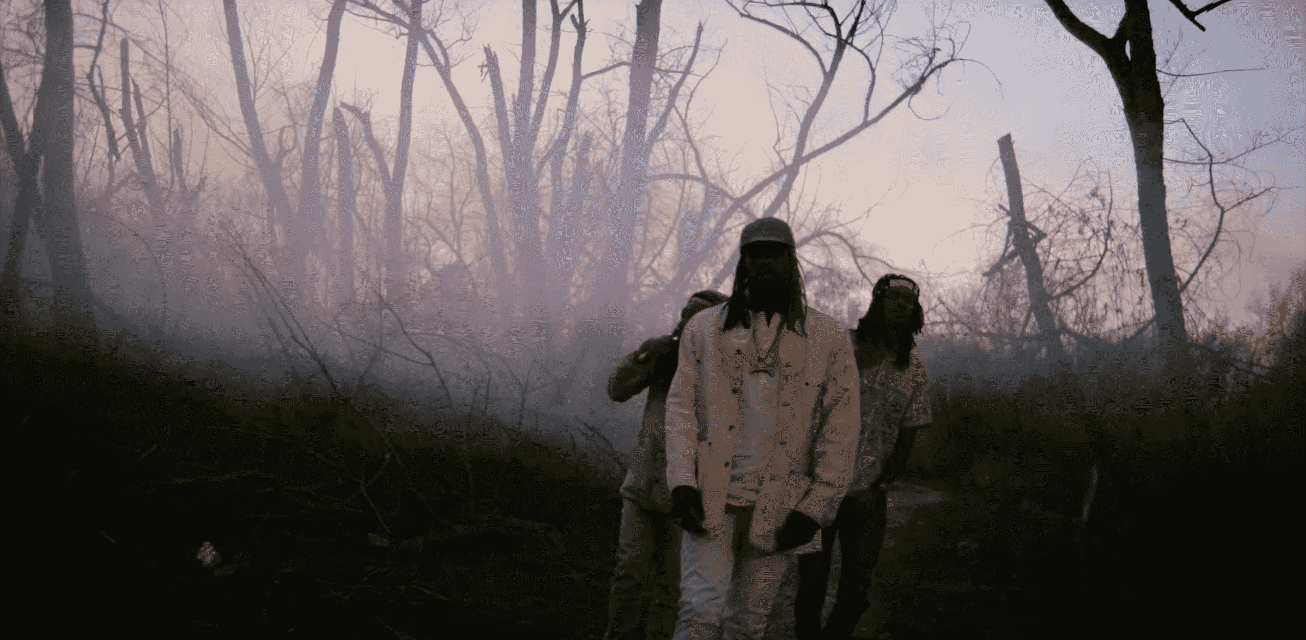 image flatbush zombies clip smoke break fly away