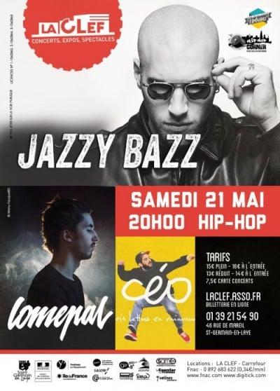 image jazzy bazz concert la clef 21 mai