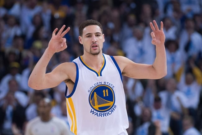 image klay thompson playoffs 2016