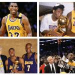 Les Lakers de 1990 à la retraite de Kobe Bryant