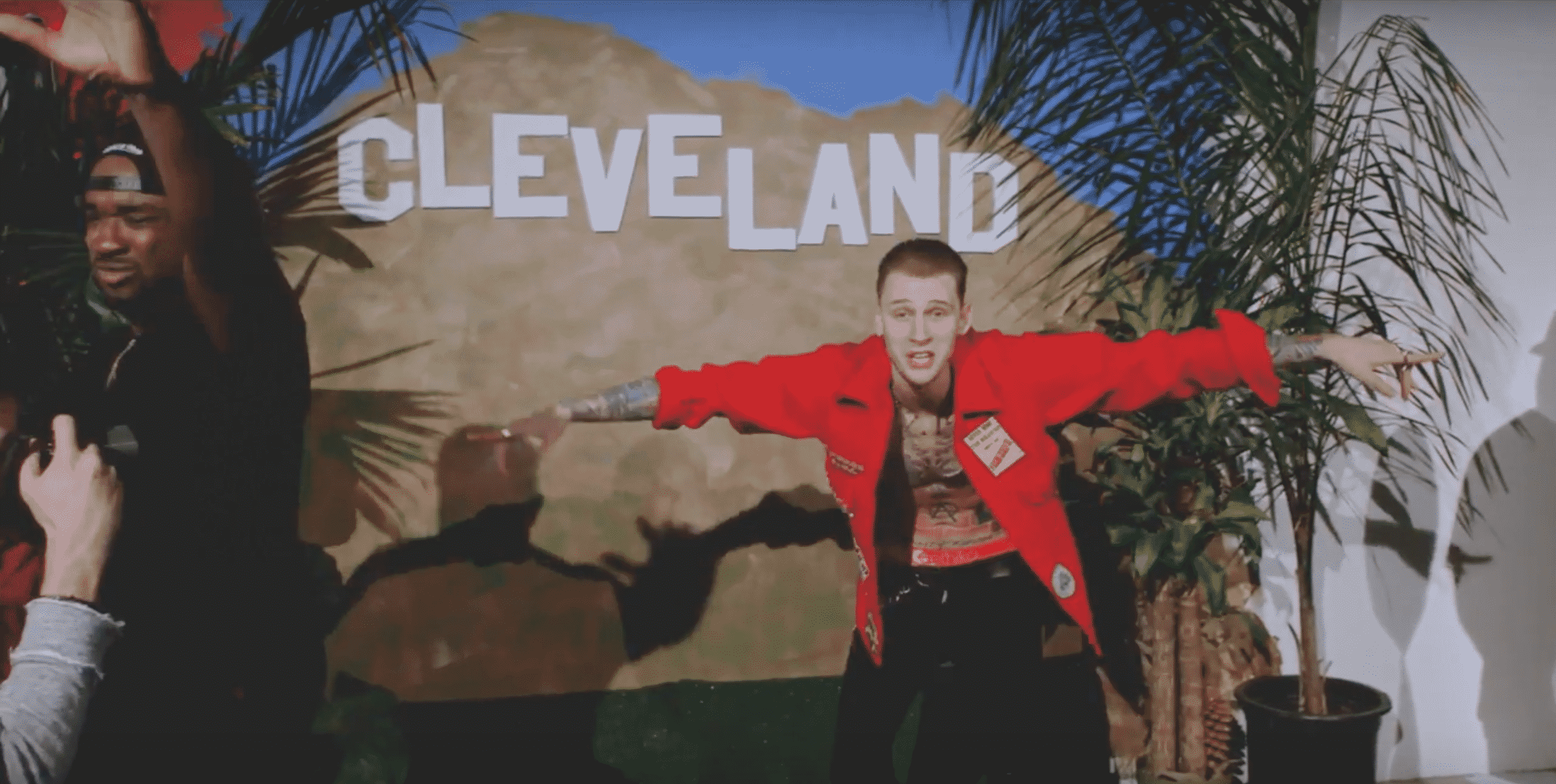 image machine gun kelly clip all night long