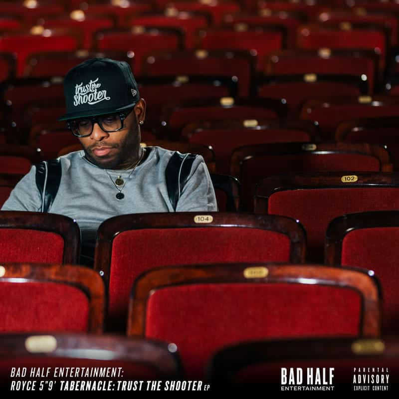 image royce da 5'9 cover mixtape trust the shooter