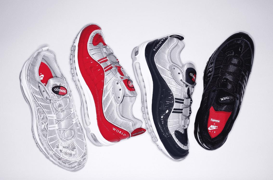 image sneaker Nike et Supreme