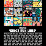 KINGZ RUN LINES : Une exposition en l'honneur des graffitis du métro parisien