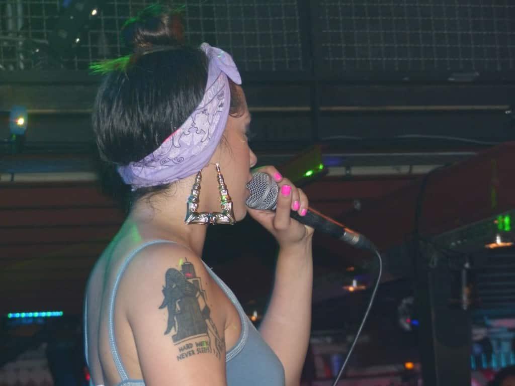 image gavlyn lors du concert à toulouse