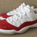 """La Air Jordan 11 Low """"Varsity Red"""" fait son retour"""