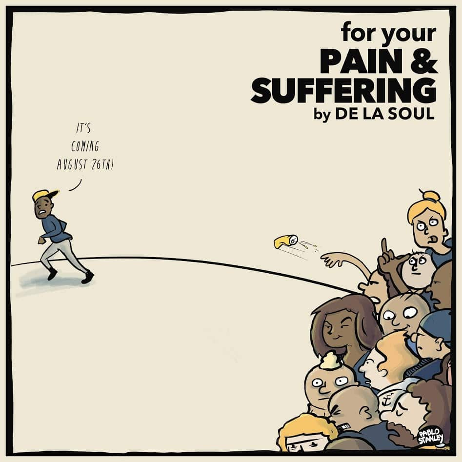 image de la soul cover ep for your pain & suffering