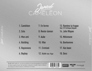 image jarod tracklist album caméléon